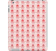 HAPPY HOME DESIGNER RED iPad Case/Skin