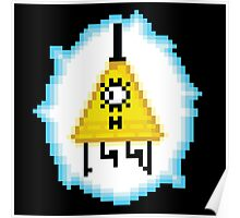 Bill Cipher (8-bit) Poster