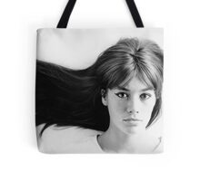 Françoise (Francoise) Hardy - History's Most Fashionable Face Tote Bag