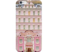 The Grand Budapest Hotel - Wes Anderson Film iPhone Case/Skin