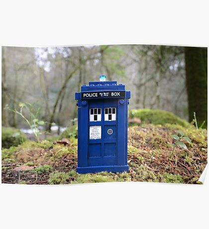 Travel's With The Tardis Poster