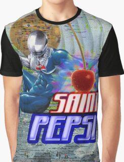 Saint Pepsi Vaporwave Ocean Paradise Graphic T-Shirt