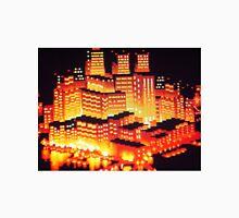 8-bit pixel cityscape Unisex T-Shirt
