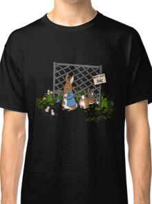 Peter's Backyard Bargains - Gardening with Rabbits! Classic T-Shirt