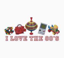 I love the 80s  Kids Tee