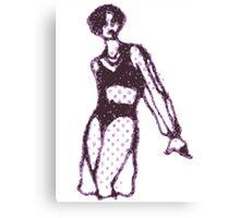x-ray girl Canvas Print