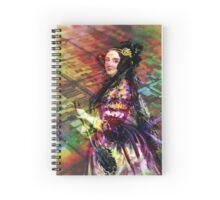 Ada Lovelace - Rainbow of Microchips Spiral Notebook