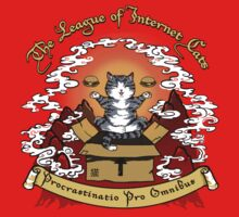 The League of Internet Cats Kids Tee