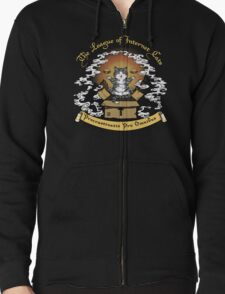 The League of Internet Cats Zipped Hoodie