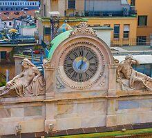 clock. Milan. by terezadelpilar~ art & architecture