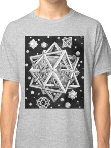MC Escher Halftone Classic T-Shirt