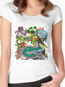 University of Florida Gator Gamer Shirt Women's Fitted Scoop T-Shirt