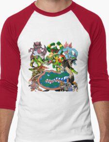 University of Florida Gator Gamer Shirt Men's Baseball ¾ T-Shirt