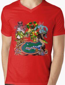 University of Florida Gator Gamer Shirt Mens V-Neck T-Shirt