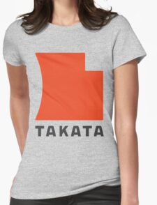 Takata logo Womens Fitted T-Shirt