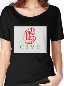 Cave Logo (CRT) Women's Relaxed Fit T-Shirt