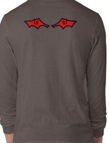 Red Demon Wings Long Sleeve T-Shirt