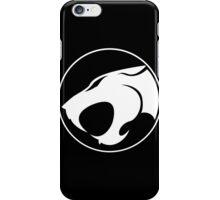 Thundercats WHITE & BLACK iPhone Case/Skin
