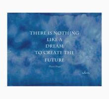Abstract 430J Rain+Hugo quote Kids Tee