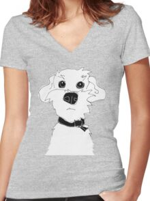 Grendel Women's Fitted V-Neck T-Shirt