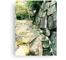 Japanese Architecture - Stairs Canvas Print