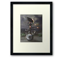 Bug Zapper 5000 Framed Print