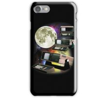 Computers in Space (Vintage Geek) iPhone Case/Skin