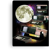 Computers in Space (Vintage Geek) Canvas Print