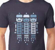 Acorn Rocket Bots Blue Unisex T-Shirt