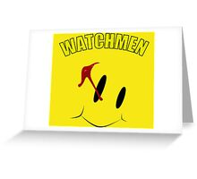 Watch Comedian pin Greeting Card