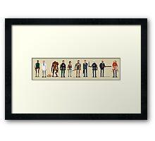 Half Life 2 Pixel Framed Print