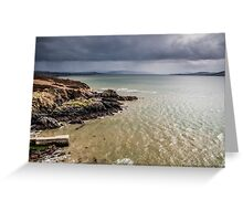 View from Dunree Head Greeting Card