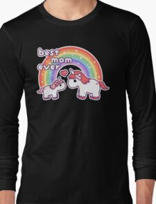 Cute Unicorn Mom Long Sleeve T-Shirt