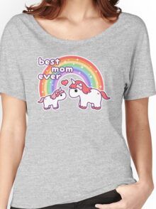 Cute Unicorn Mom Women's Relaxed Fit T-Shirt