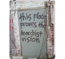 Suburban Anarchy iPad Case/Skin