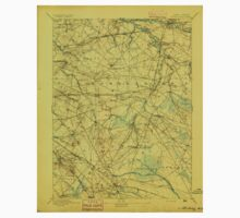 USGS TOPO Map New Jersey NJ Mount Holly 255278 1894 62500 Baby Tee