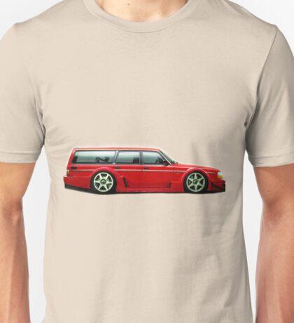 Volvo Wagon Racecar Unisex T-Shirt