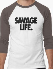 SAVAGE LIFE. Men's Baseball ¾ T-Shirt