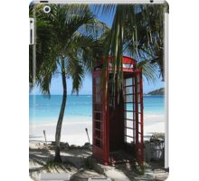 Antigua Red Phone Box iPad Case/Skin