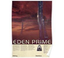 Mass Effect - Eden Prime Vintage Poster Poster