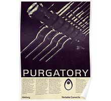 Mass Effect - Purgatory Vintage Poster Poster