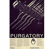 Mass Effect - Purgatory Vintage Poster Photographic Print