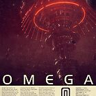 Mass Effect - Omega Vintage Poster by Titch-IX