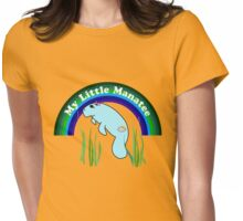 My Little Manatee Womens Fitted T-Shirt