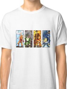 When Worlds Collide - Pokemon meets The Last Airbender Classic T-Shirt