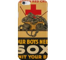 Our Boys Need Socks iPhone Case/Skin