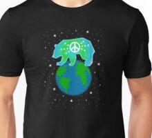 Peace Bear  Unisex T-Shirt