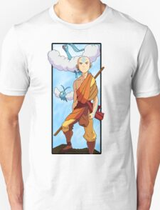 Aang and Altaria - Pokemon and Airbender Unisex T-Shirt