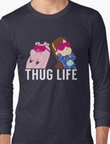 Thug Life Mabel and Waddles White T-Shirt