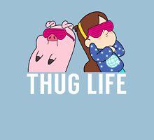 Thug Life Mabel and Waddles White Unisex T-Shirt